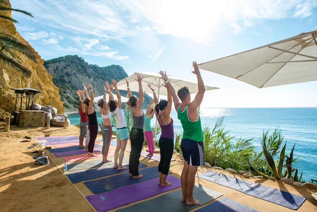 Yoga at Amante Ibiza