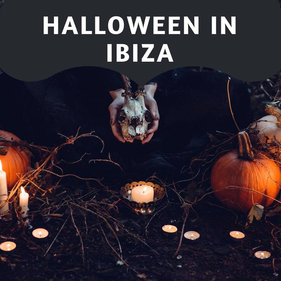 five of the best halloween parties - ibiza 2018 - alexandra rose