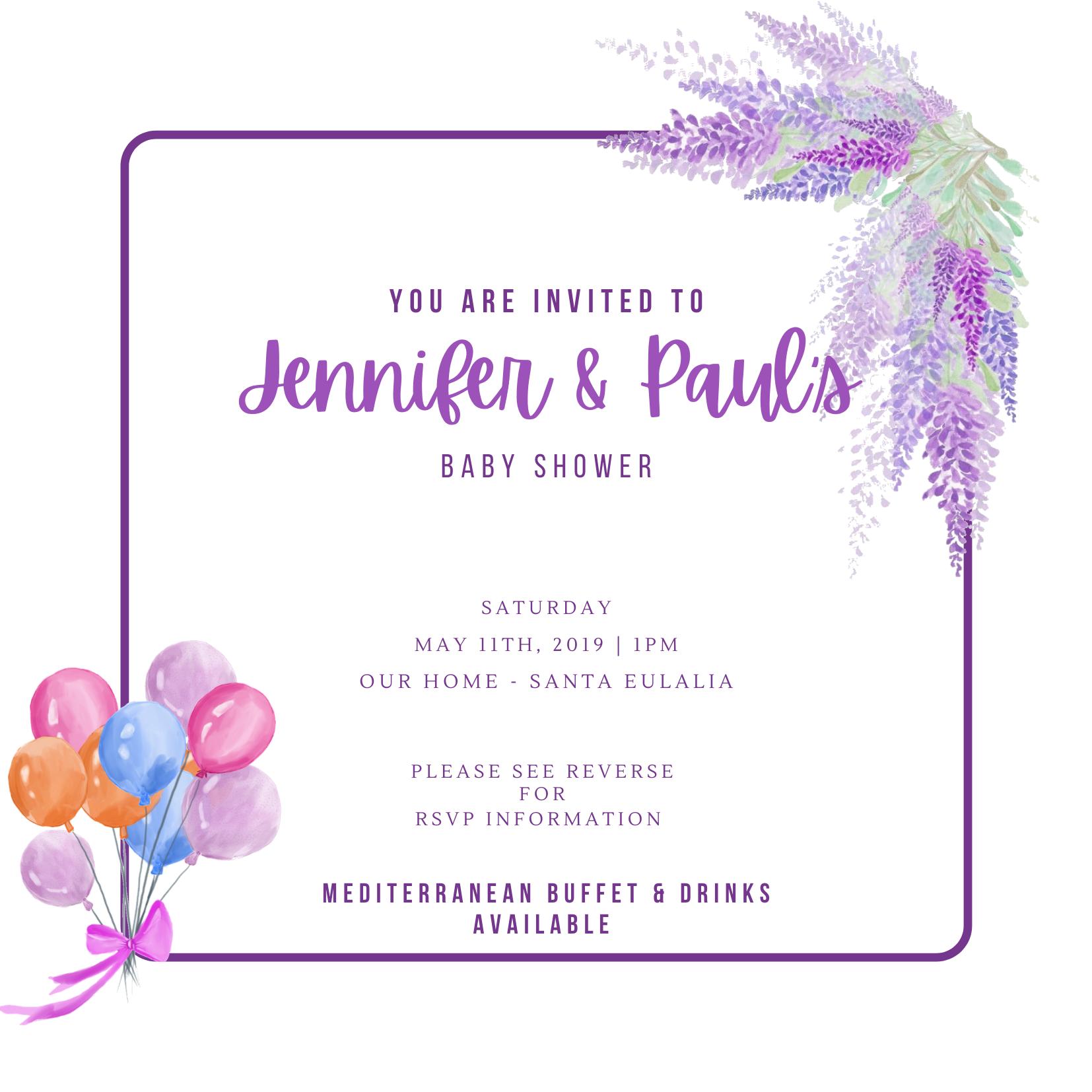 Invitation Design - Alexandra Rose Creative