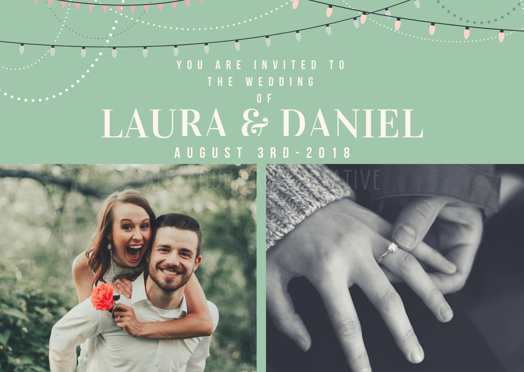 Invitation - Alexandra Rose Creative